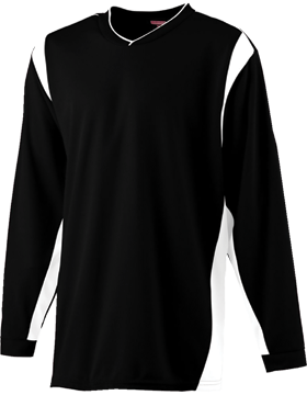 Wicking Youth Long Sleeve Warmup Shirt 4601