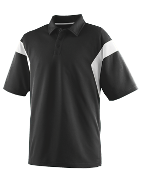 Ladies Wicking Textured Sideline Sport Shirt 5076