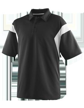 Ladies Wicking Textured Sideline Sport Shirt 5076
