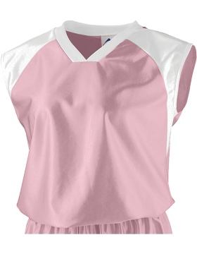 Girls Dazzle All Star Jersey 578 Light Pink/White