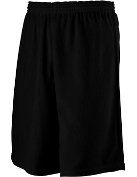 Longer Length Mini Mesh Youth League Short 739