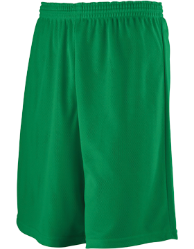 Longer Length Mini Mesh League Short 738