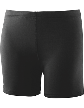 Girls Poly/Spandex 4 in. Short 743