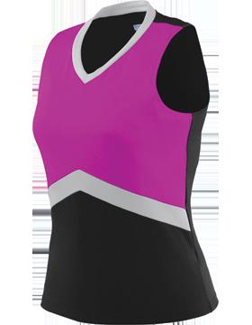 Ladies Shell 9200 Black/Power Pink/Metallic Silver