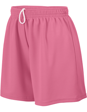 Ladies Wicking Mesh Short 960 Pink