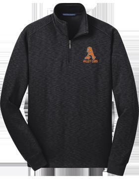 Alexandria Valley Cubs Black Fleece Quarter-Zip Pullover F295