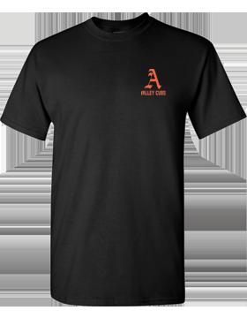 Alexandria Valley Cubs Mascot Black T-Shirt G500
