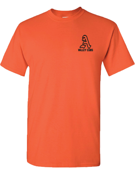 Alexandria Valley Cubs Mascot Orange T-Shirt G500