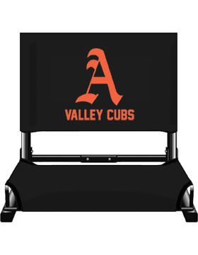 Alexandria Valley Cubs Black Canvas Stadium Chair