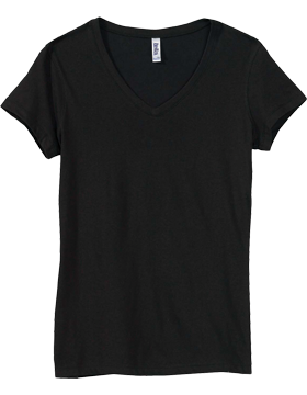 B6005 Bella V-Neck T-Shirt