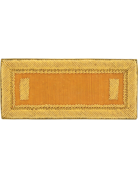 Armor Cavalry Bullion Shoulder Boards