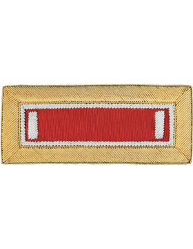 Engineer Bullion Shoulder Boards