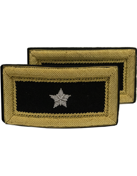 Female General Officer Bullion Shoulder Boards