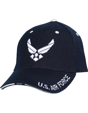 BCD-02 USAF Hap Arnold Wing Emb. Ball Cap