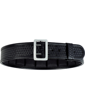 ErgoTek™ Sam Browne Belt Black 7965 Brass