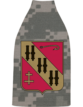 Bottle Hugger, 5th Air Defense Artillery Crest, Camo