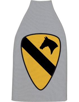 Bottle Hugger, 1st Cavalry Divsion Patch