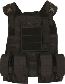 Modular Plate Carrier Vest Black 65-281 small