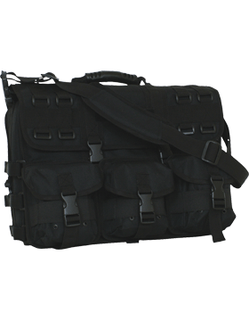 Tactical Field Briefcase Black 54-371