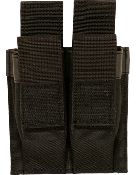 9mm Dual Mag Pouch Black 57-551