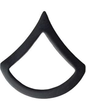 Black Metal Rank BM-102 Private First Class (E-3)
