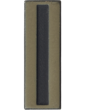 Black Metal Rank BM-115A Warrant Officer 5