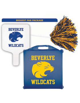 Beverlye Wildcats Biggest Fan Package