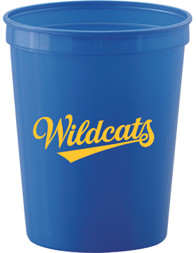 Beverlye Wildcats Royal Smooth Stadium Cup