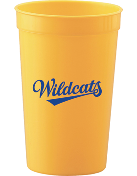 Beverlye Wildcats Gold Smooth Stadium Cup
