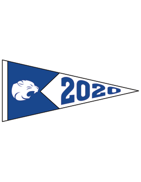 Beverlye Magnet with Year Customizable Alumni Pennant Sticker