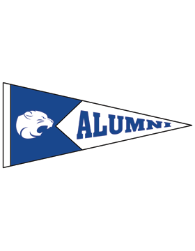 Beverlye Magnet with Alumni Pennant Sticker