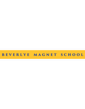 Beverlye Magnet School Bumper Sticker 14in x 3in