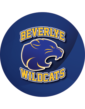 Beverlye Wildcats Royal Circle Decal