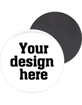 Custom or Stock Design Button 3in with Magnet Back (25-49)