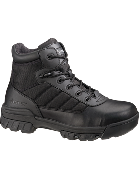 Women's Black Leather Tactical Sport Boot 2762