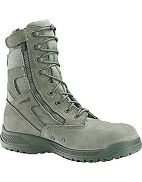Hot Weather Tactical Side Zip Toe Boot 610Z