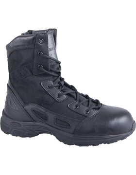 Warson 8 UltraLight Performance Black Boot with Side Zipper C8295