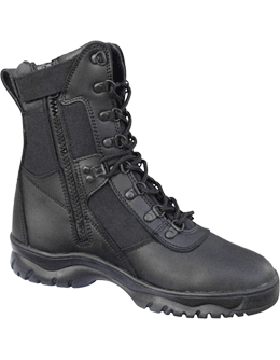 Depot Special Forced Entry Tactical Black Boot with Zipper