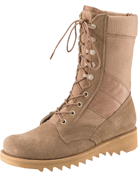 Ripple Sole Desert Tan Jungle Boot 5058