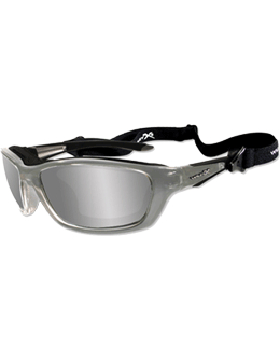 WX Military Brick Goggles for Climate Control with Silver Flash