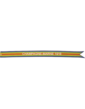USAF World War I Battle Streamer Champagne-Marne 1918