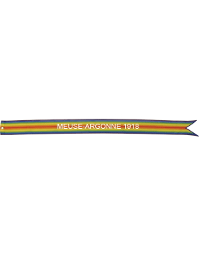 USAF World War I Battle Streamer Meuse-Argonne 1918