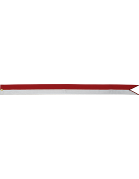 BS-RC30A-3' Red and White (Specify Emb)