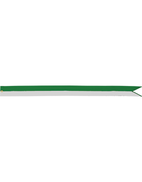 BS-RC33A-3' Green and White (Specify Emb)