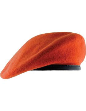 4499afc3b4a96 Fitted Berets with Leather Sweatband