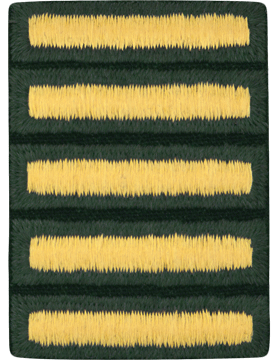 Male Overseas Bars Gold/Green C-113