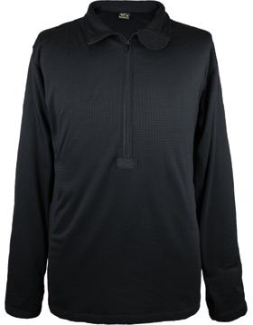 Base II Grid Fleece Zip Pullover 603