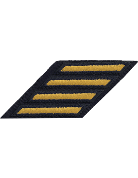 Male Service Stripes Gold/Blue C-M112