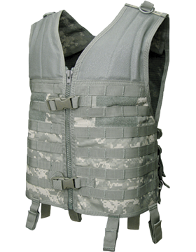 Molle Modular Assault Vest ACU M-XL Adjustable MV