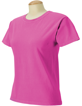 Comfort Colors Ladies 5.4 oz. Ringspun T-Shirt C3333 Raspberry